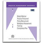 Model Medical Practice Personnel Policy Manual Compliance Plan