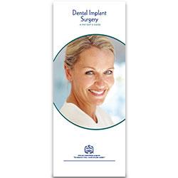 Dental Implant Surgery Patient Information Pamphlet (100-Pack)