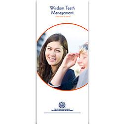 Wisdom Teeth Management Patient Information Pamphlet (100-Pack)