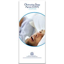 Obstructive Sleep Apnea Patient Information Pamphlet (100-Pack)