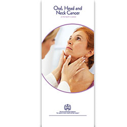 Oral, Head and Neck Cancer Patient Information Pamphlet (100-Pack)