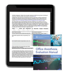 Office Anesthesia Evaluation Manual e-Book, 9th Edition