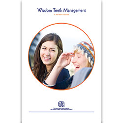 Wisdom Teeth Management Patient Education Guide (25-Pack)